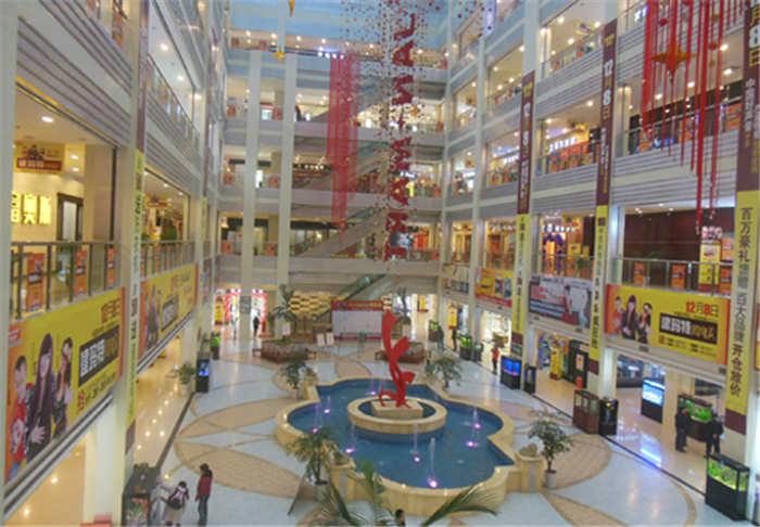 位于涪陵鹅颈关由亚搏app官网方集团开发建设的11万㎡的建材市场2
