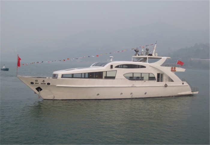 亚搏app官网方造船公司建造的牡丹号游艇2